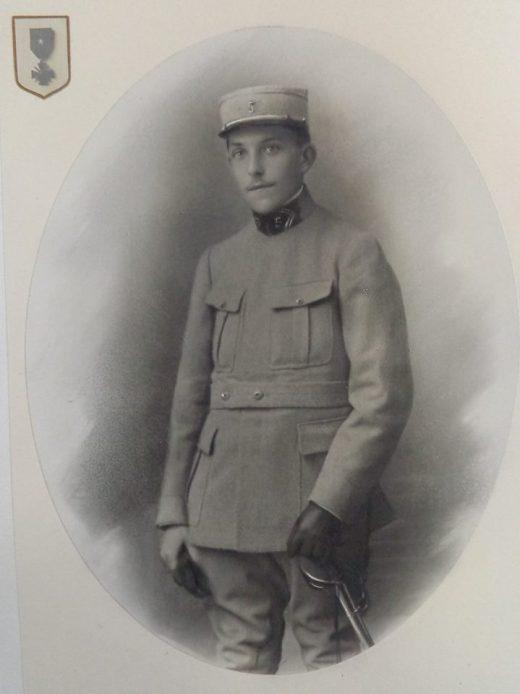 CLERGET-GURNAUD Pierre (1894-1916), promotion X 1914, Sous-lieutenant au 5e Régiment d'Artillerie de Campagne, MPF aux Bois-Bourrus sous Verdun le 03/04/16