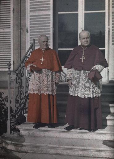 Cardinal Luçon, Mgr Neveux