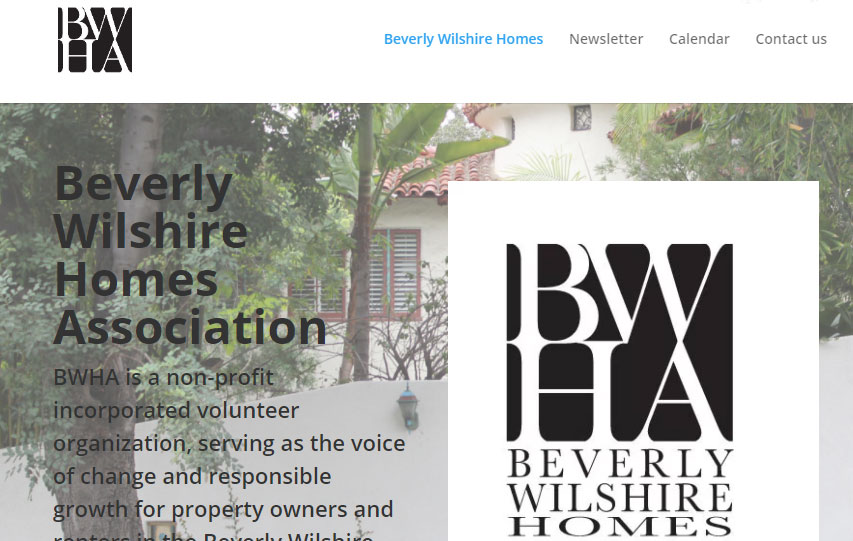 Beverly Wilshire Homes Association