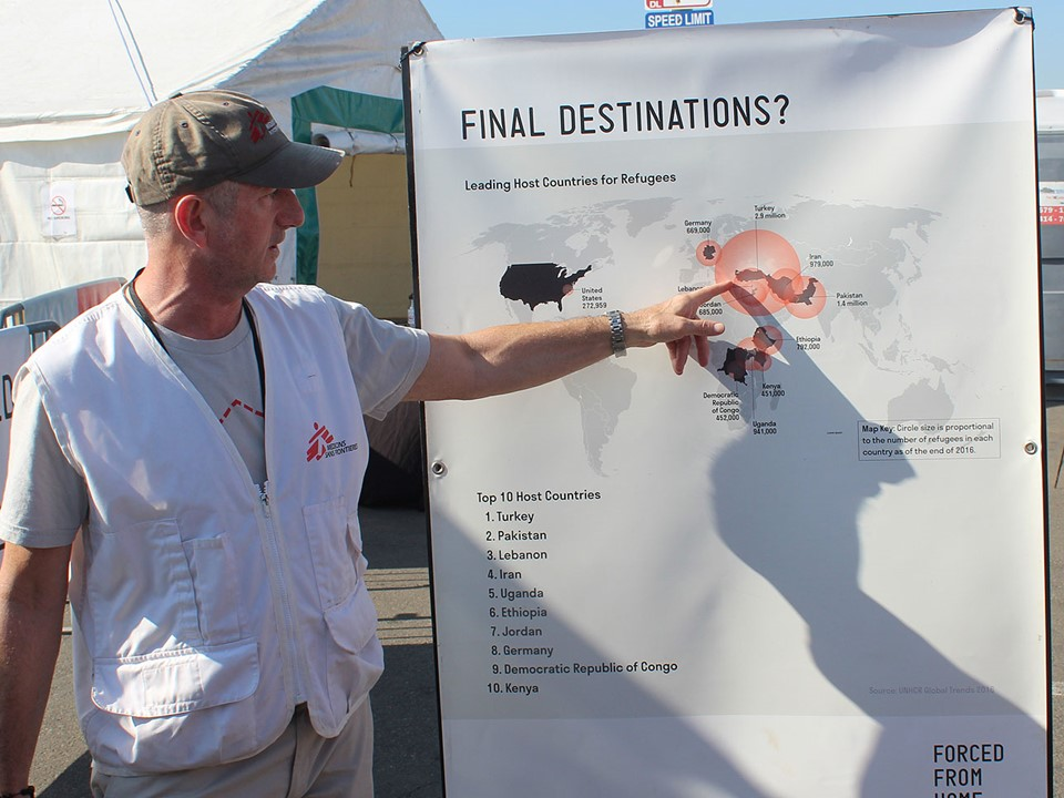 John discusses final destinations