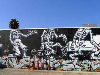 Mural at Self Help Graphics