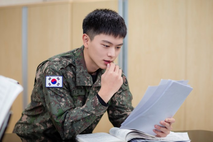 BTOB Sungjae Militar