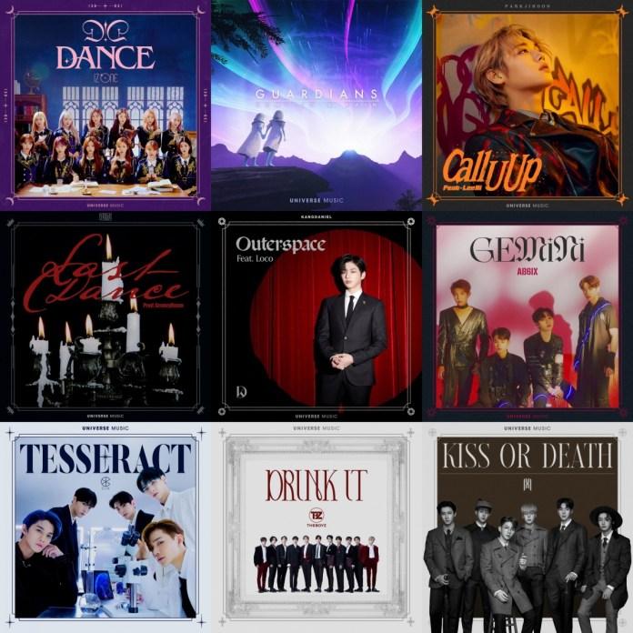 universe music singles asiafirstnews