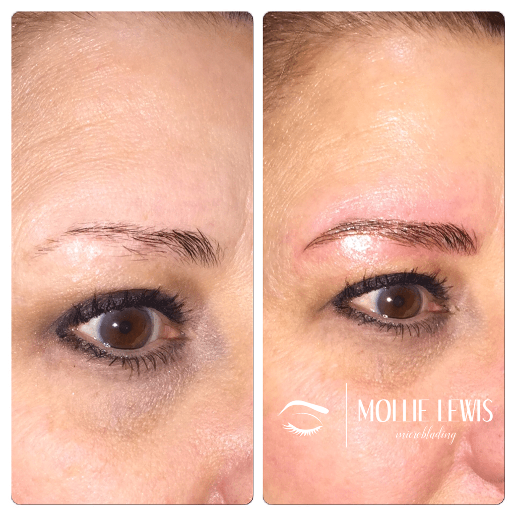 Most Natural Permanent Makeup Eyebrow