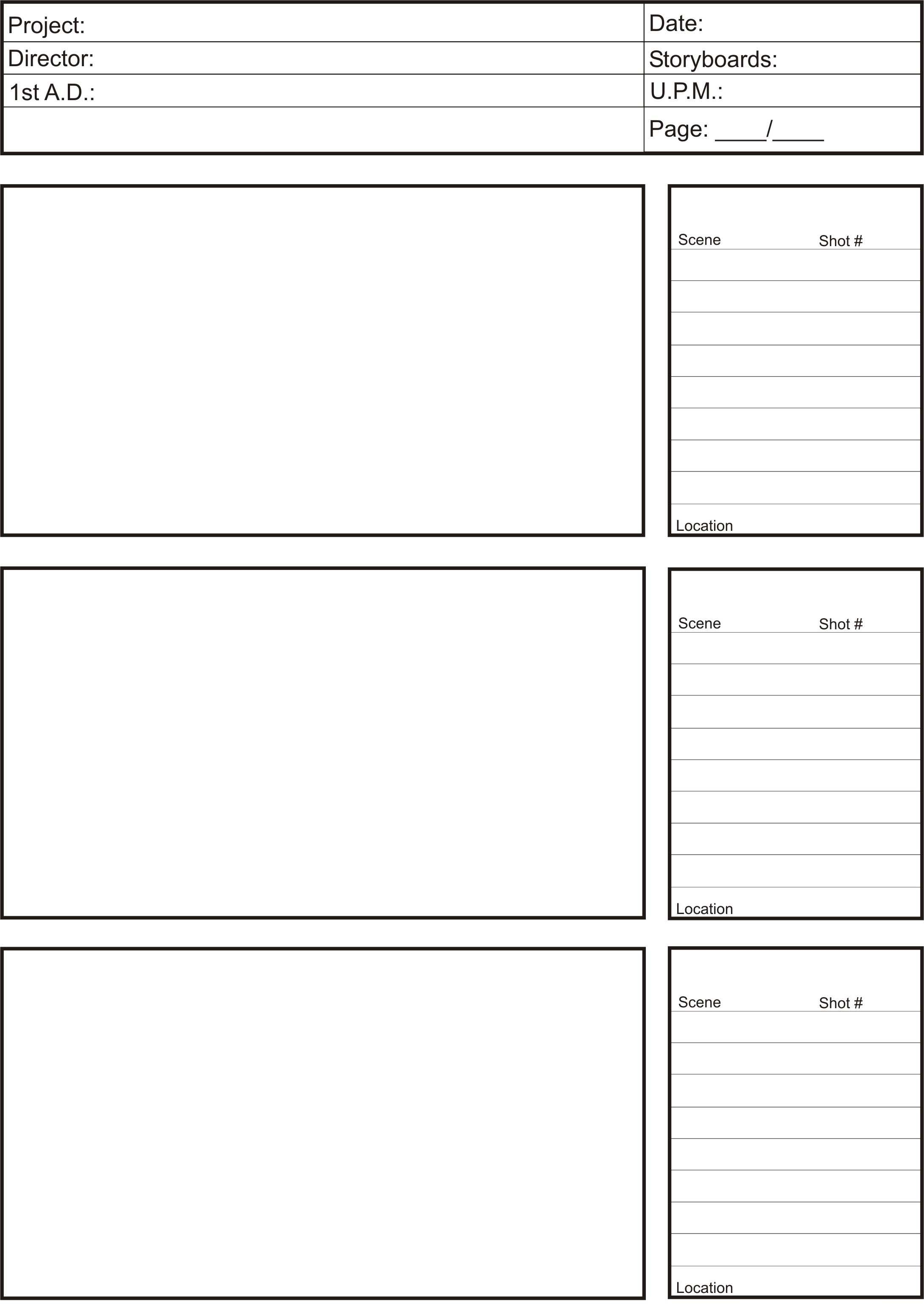 Storyboards Lm