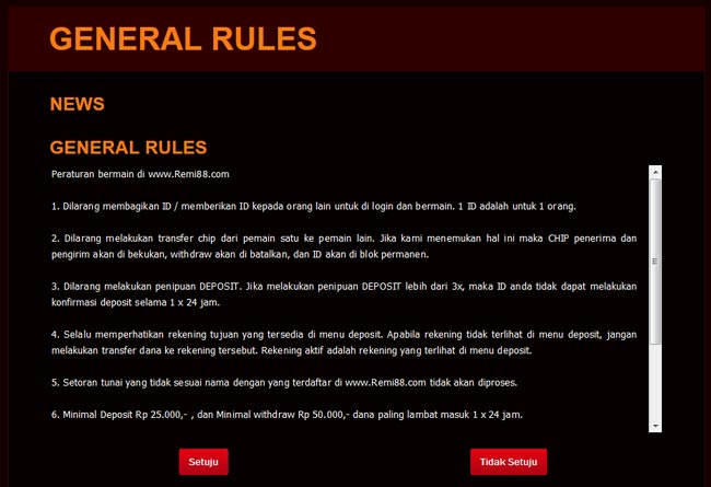 general-rules