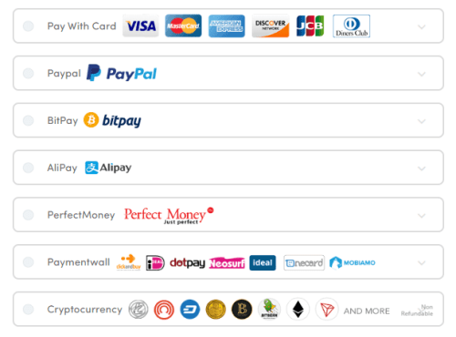 Ivacy payment methods