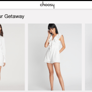 Choosy が ファッションで、 流行る理由