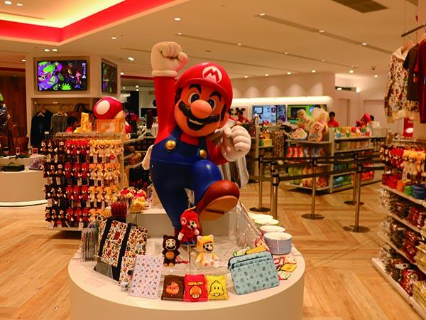 渋谷パルコにある任天堂の公式ショップ