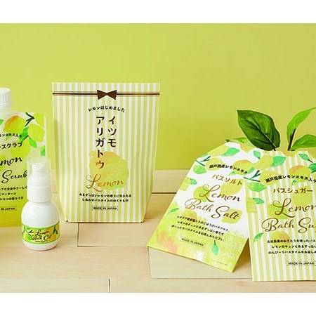 "Bath Atem ""Gourmet Lemon"" that fills your heart"