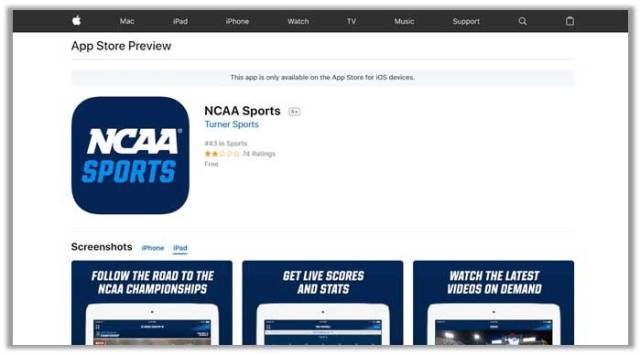 How to Watch NCAA Basketball March Madness Live on iOS