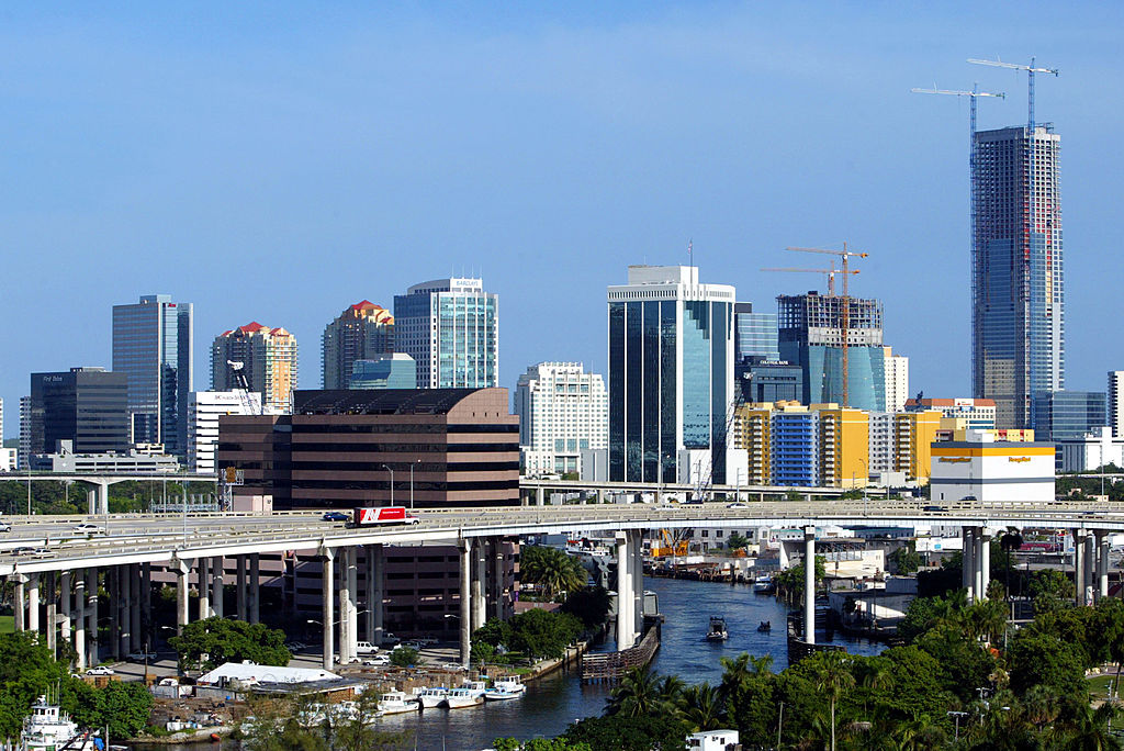 The Changing Miami Skyline