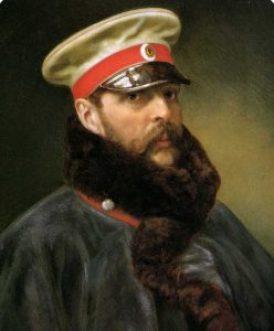 Alexander_II_of_Russia_by_Monogrammist_V.G._(1888,_Hermitage)_detail