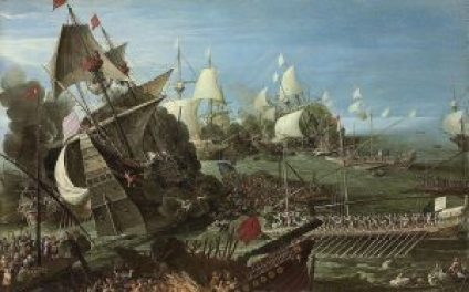 Andries_van_Eertvelt_(circle)_-_The_Battle_of_Lepanto_(1622)