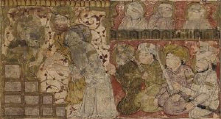 Balami_-_Tarikhnama_-_the_election_of_'Othman_as_the_caliphate_of_Medina_(cropped)