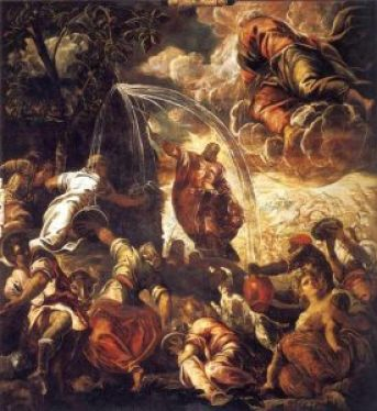 File-Tintoretto,_Jacopo_-_Moses_Striking_Water_from_the_Rock_-_1577_-_122kb