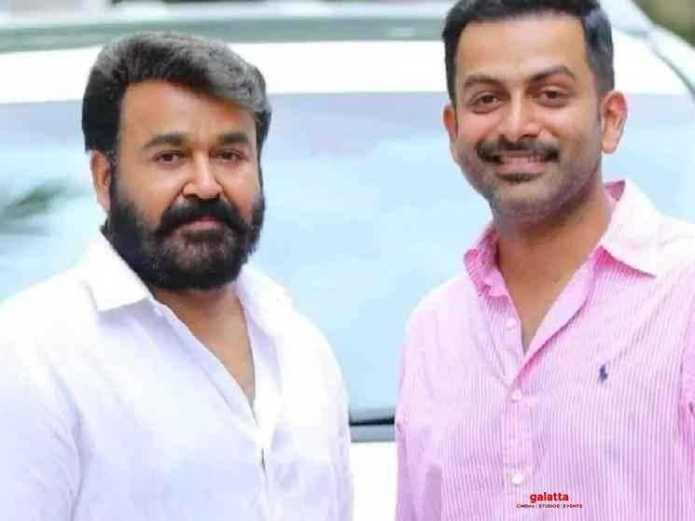 Actor Prithviraj announces his second directorial Bro Daddy with Mohanlal    Galatta
