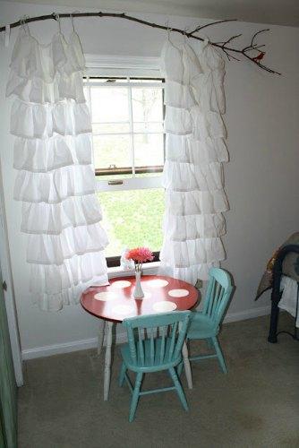 5 ideas for diy curtain rod finials you