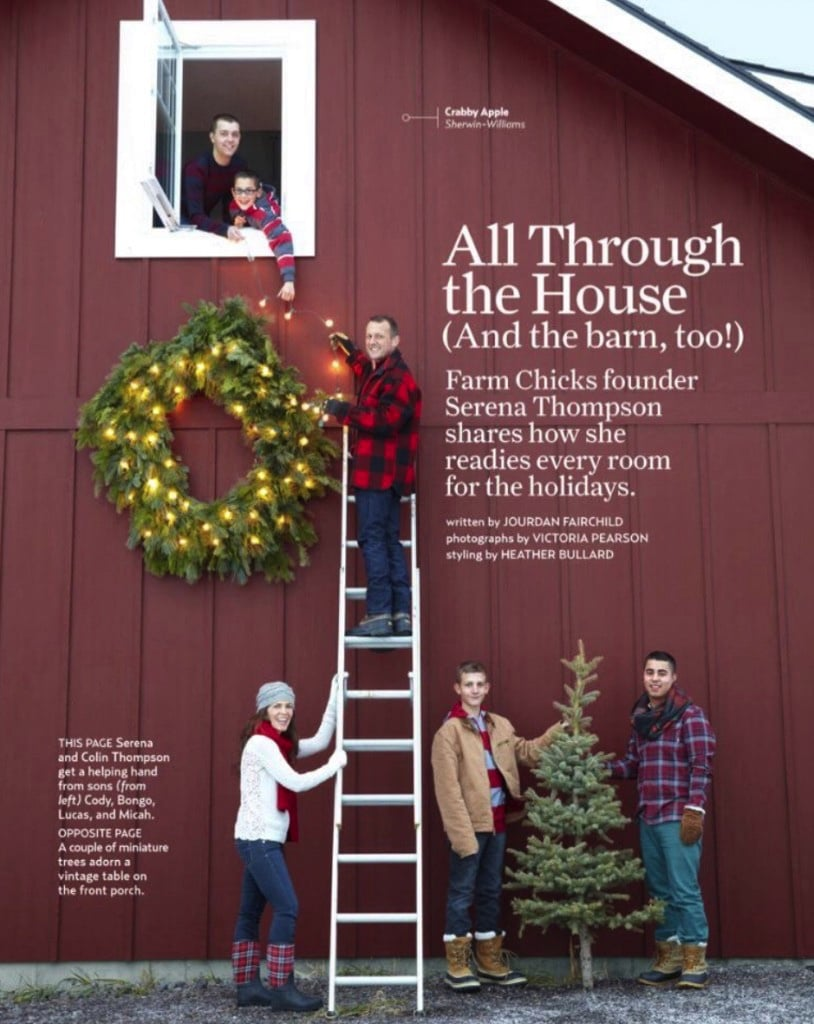 christmas in country living magazine