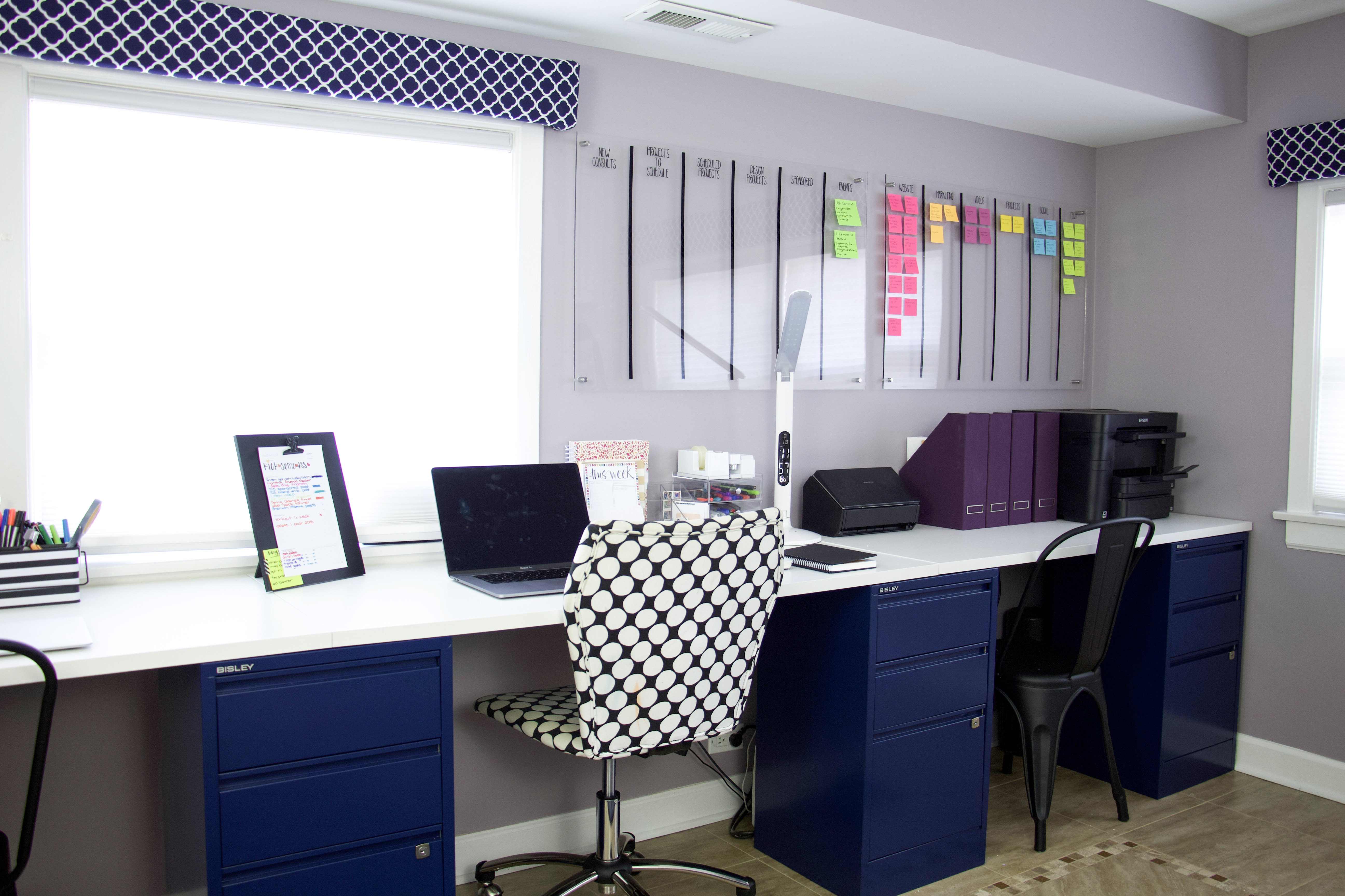 How To Diy Computer Desk Without Building Anything The Organized Mama