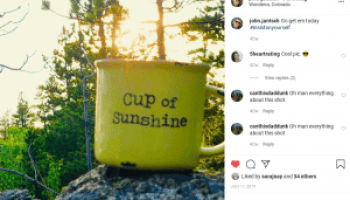 cup of sunshine