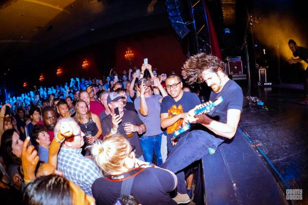 Black Pistol Fire at El Rey Theatre — Photo by ZB Images