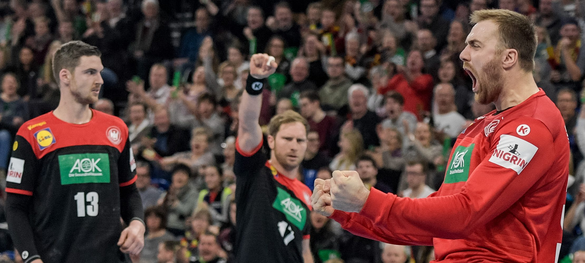 klebrigen fingern handball