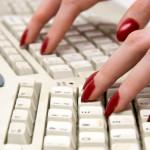 fingers on keyboard, My Persuasive Presentations, LLC