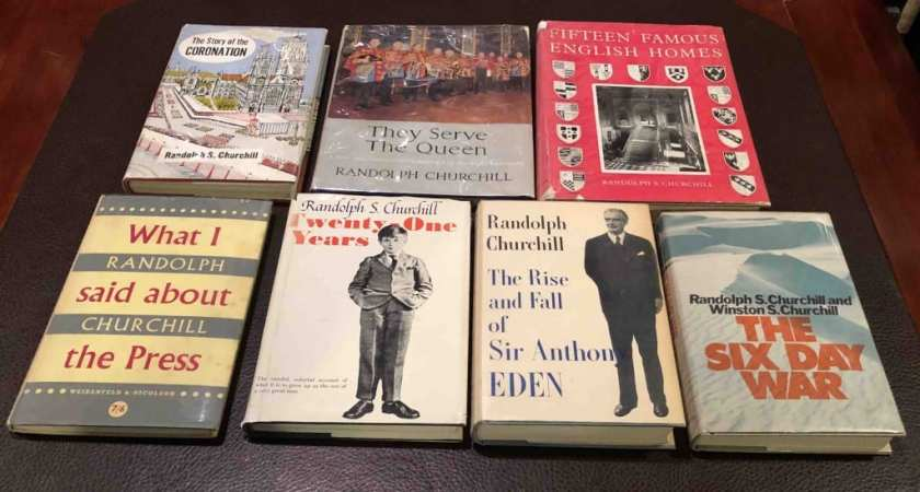 Randolph Churchill books (Richard Langworth) spectator.org