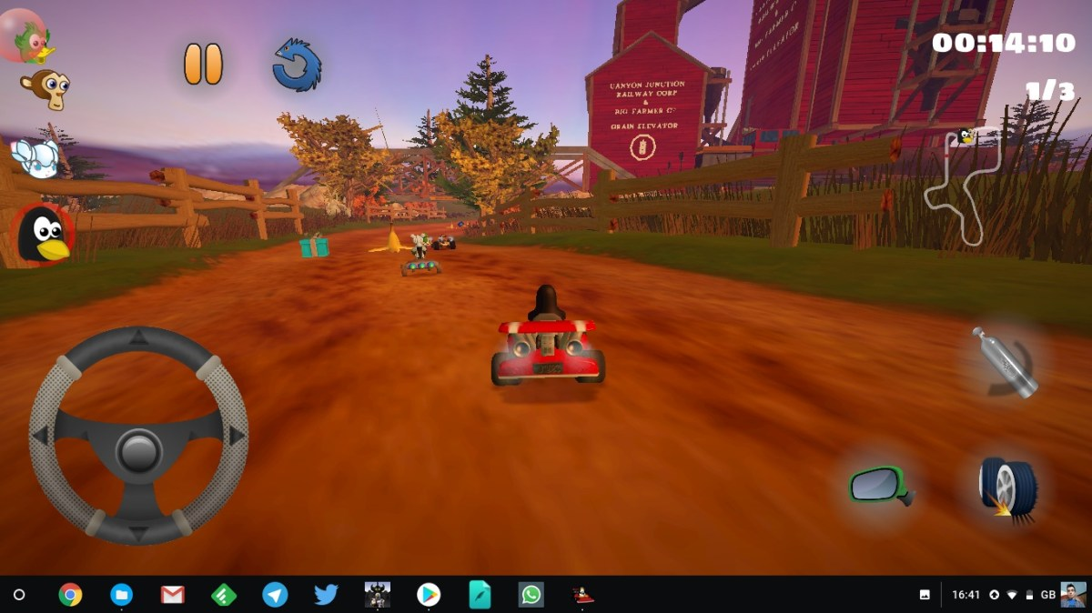 You Can Now Play SuperTuxKart on Android! - OMG! Ubuntu!