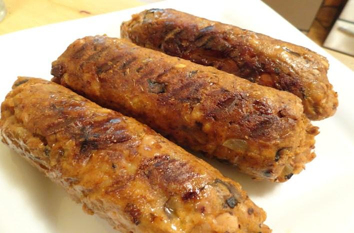 Vegan Homemade Spicy Italian Sausage