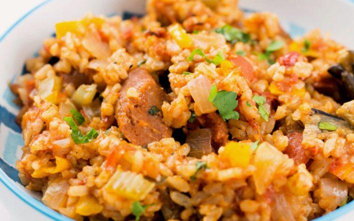 Vegan Easy Cajun Jambalaya