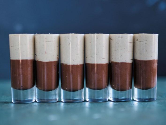Vegan Espresso White Chocolate Cashew Mousse