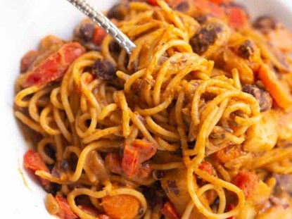 spaghetti and beans weird food combinations that Nigerians love