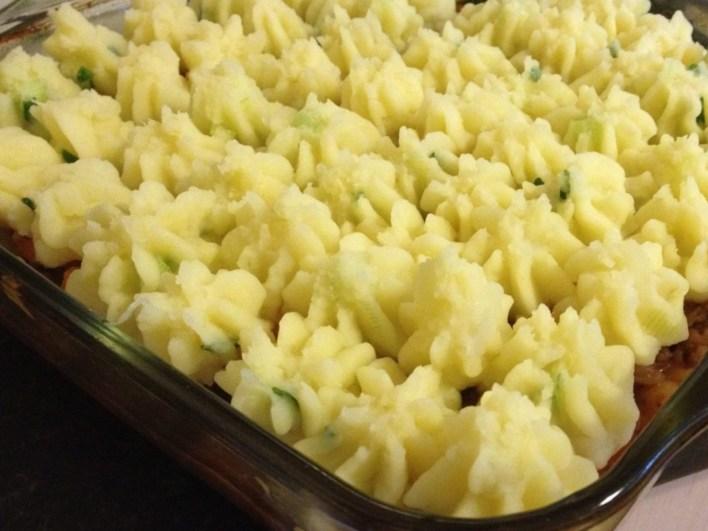 Shepherds Pie With Spring Mustard Mash
