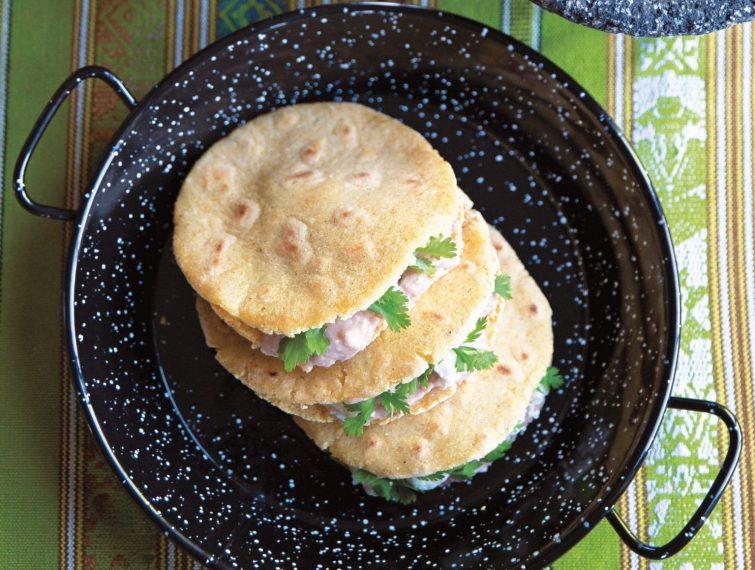 Vegan Gorditas de Frijoles con Queso (Bean and Cheese Gorditas) viral recipes