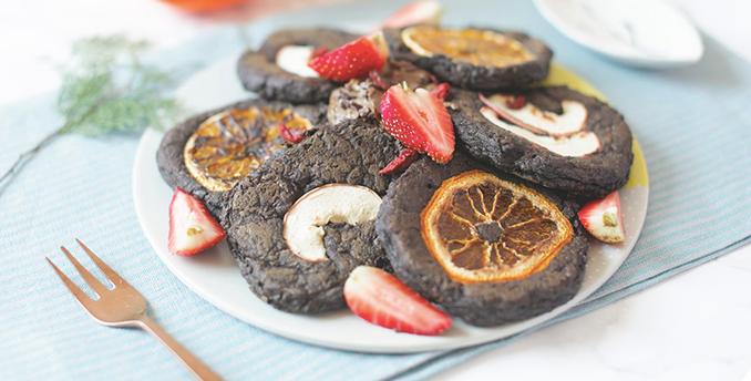 Chocolate Coffee Brownie Pancake