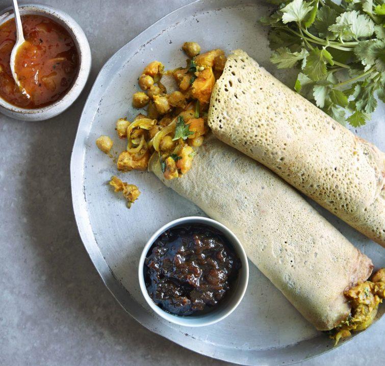 Vegan Indian Dosa
