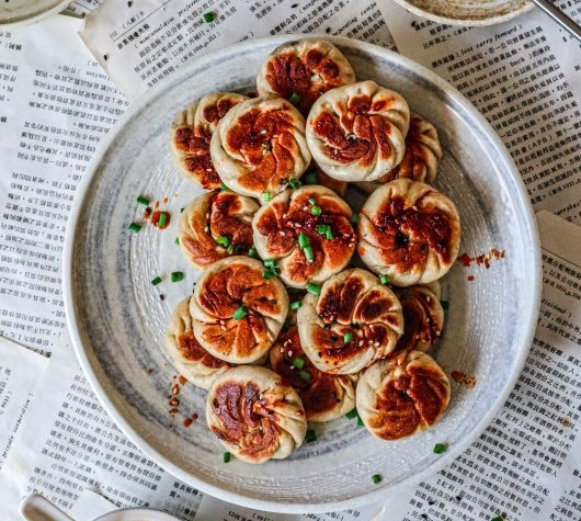 Vegan Pan Fried Dumplings