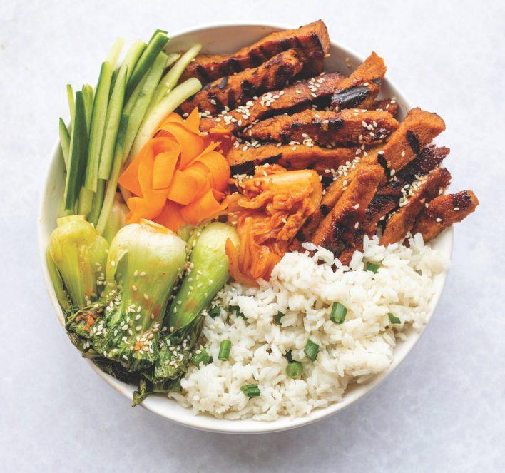 Vegan Beef Bulgogi Bowl