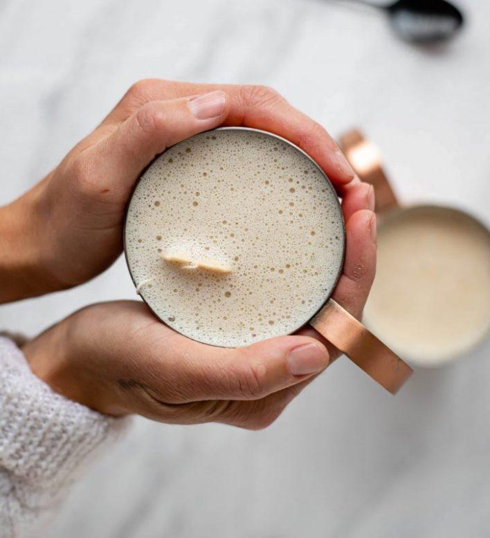 Vegan Earl Grey Tea Latte