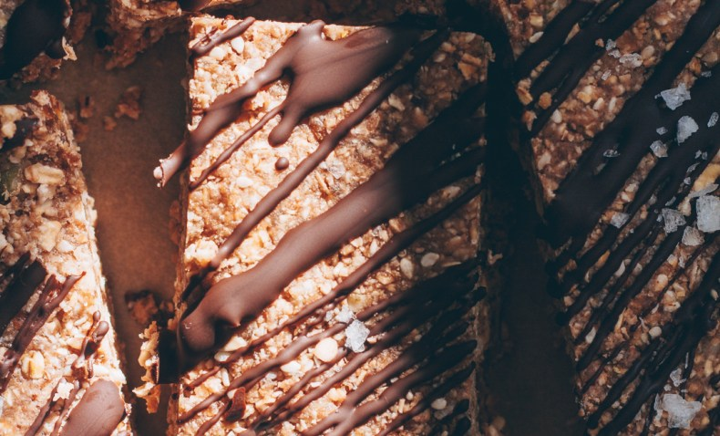 Vegan No-Bake Protein Bars