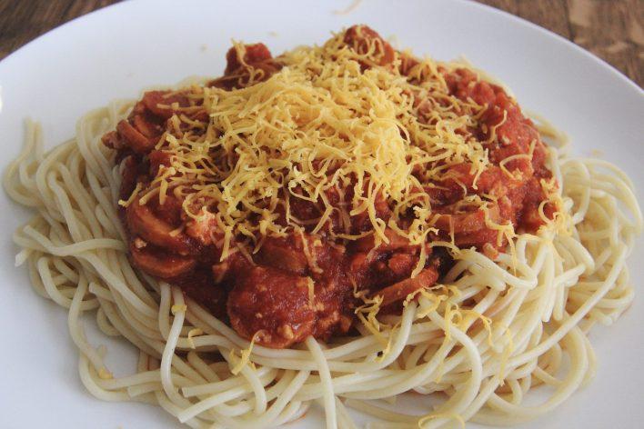 Vegan Filipinx-Style Spaghetti