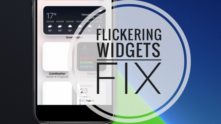 Fix flickering widgets in iOS 14