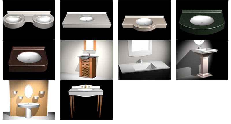 wash basin 3d cad models
