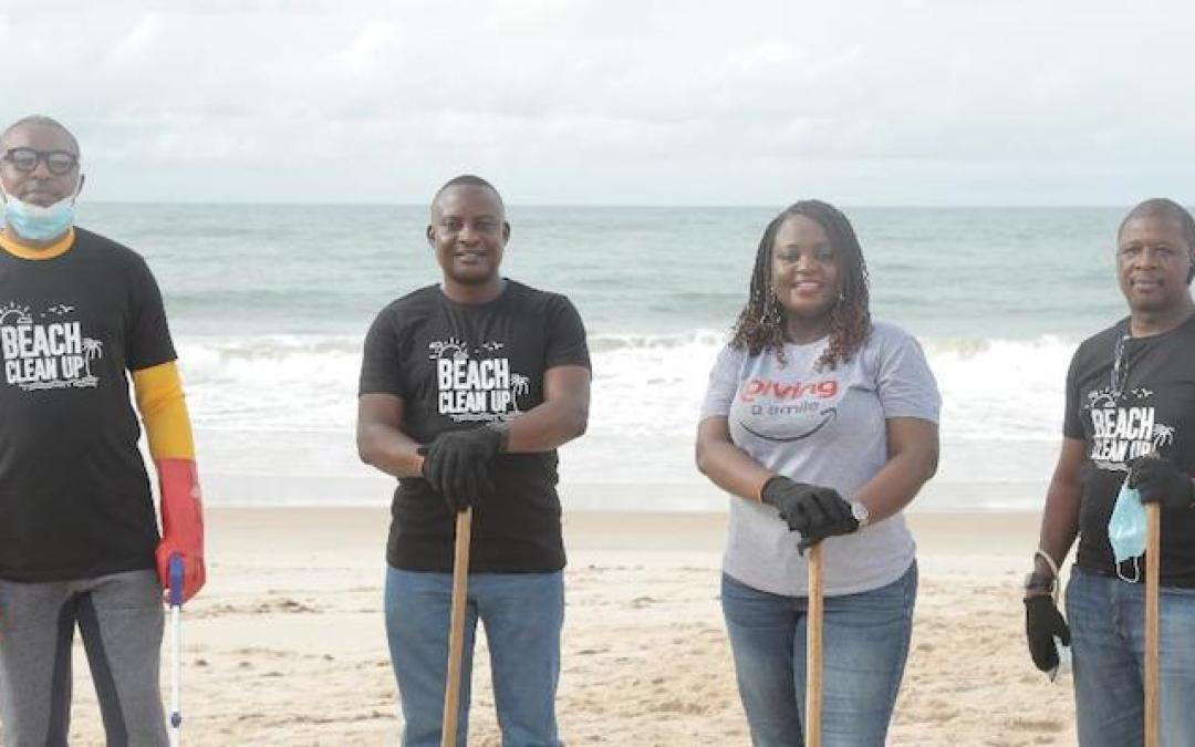 125 volunteers join Sterling One Foundation to clean Eleko Beach on World Environment Day