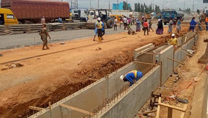 Lagos-Abeokuta road