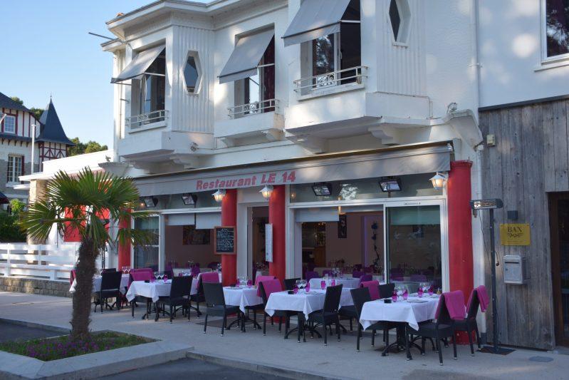 Façade restaurant la Baule