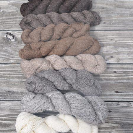 Finnsheep Yarn & Roving