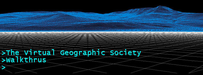 The Virtual Geographic Society